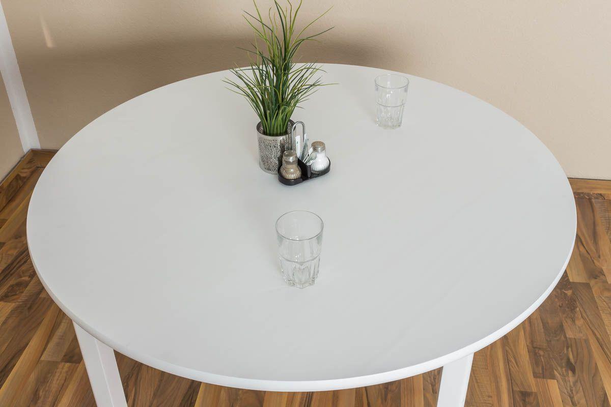 Kleiner Tisch weiß