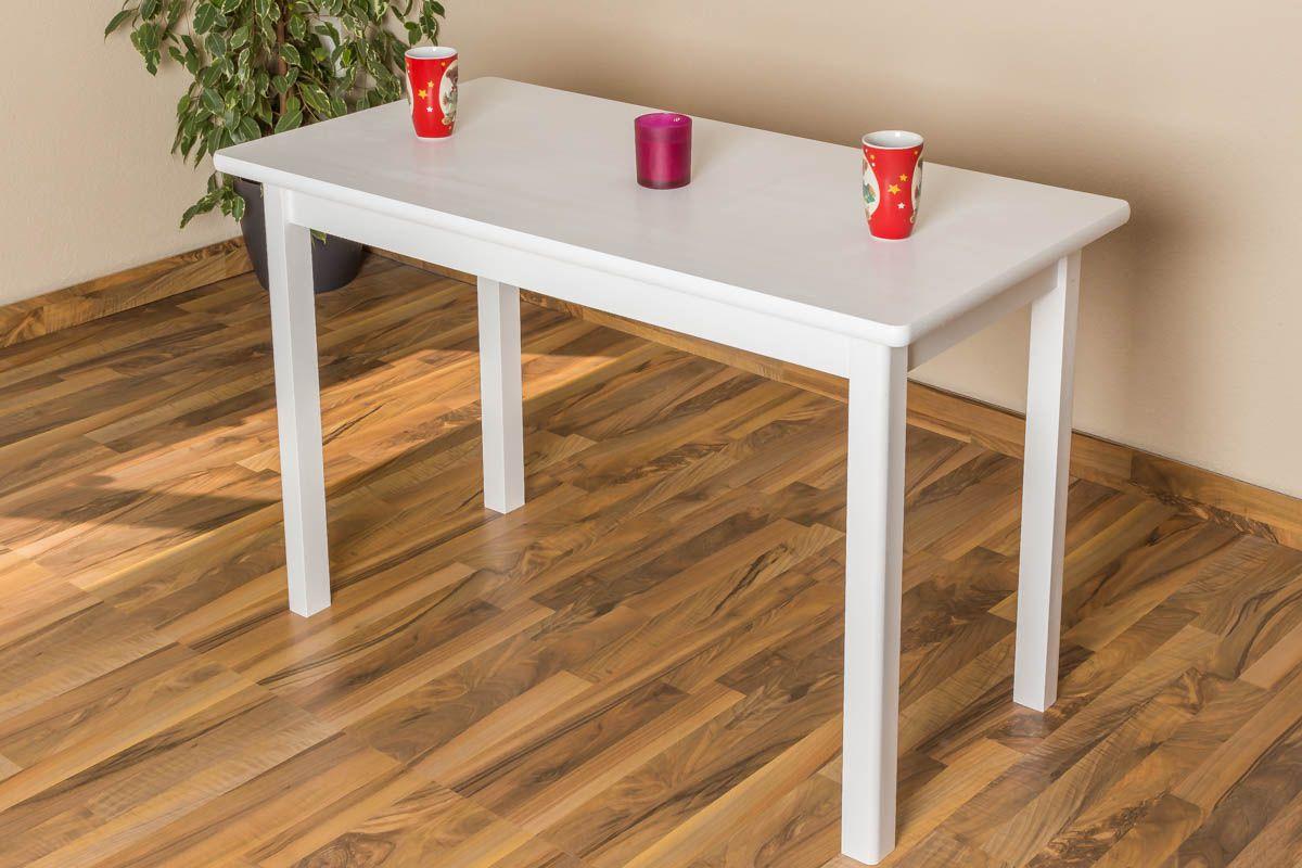 Weißer Tisch