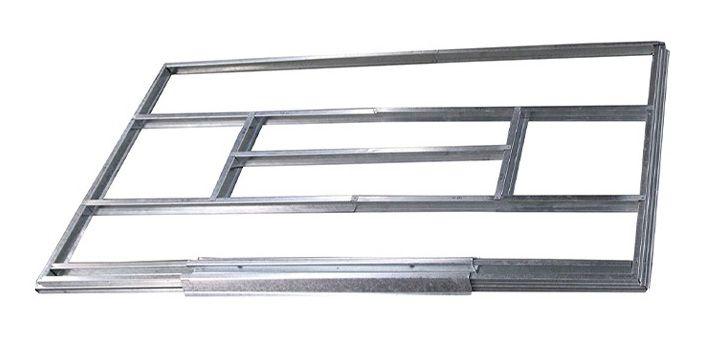 Unterkonstruktion für Metallgerätehäuser, Modell Kompakt 1