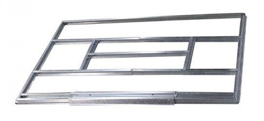Unterkonstruktion für Metallgerätehäuser, Modell Kompakt 4