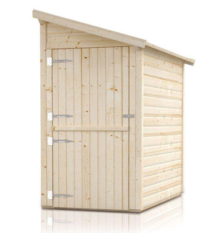 """Anbauschrank """"Ordnung"""" - Ausführung: Ordnung 1,  Außenmaß mit Dach: 180 x 124 cm,  Außenmaß ohne Dach: 150  x 120 cm,  Innenmaß: 142 x 116 cm"""