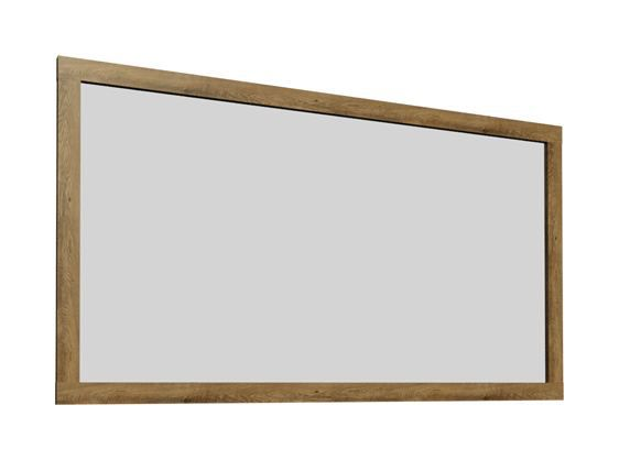 Spiegel Selun 16, Farbe: Eiche Dunkelbraun - 85 x 123 x 7 cm (H x B x T)