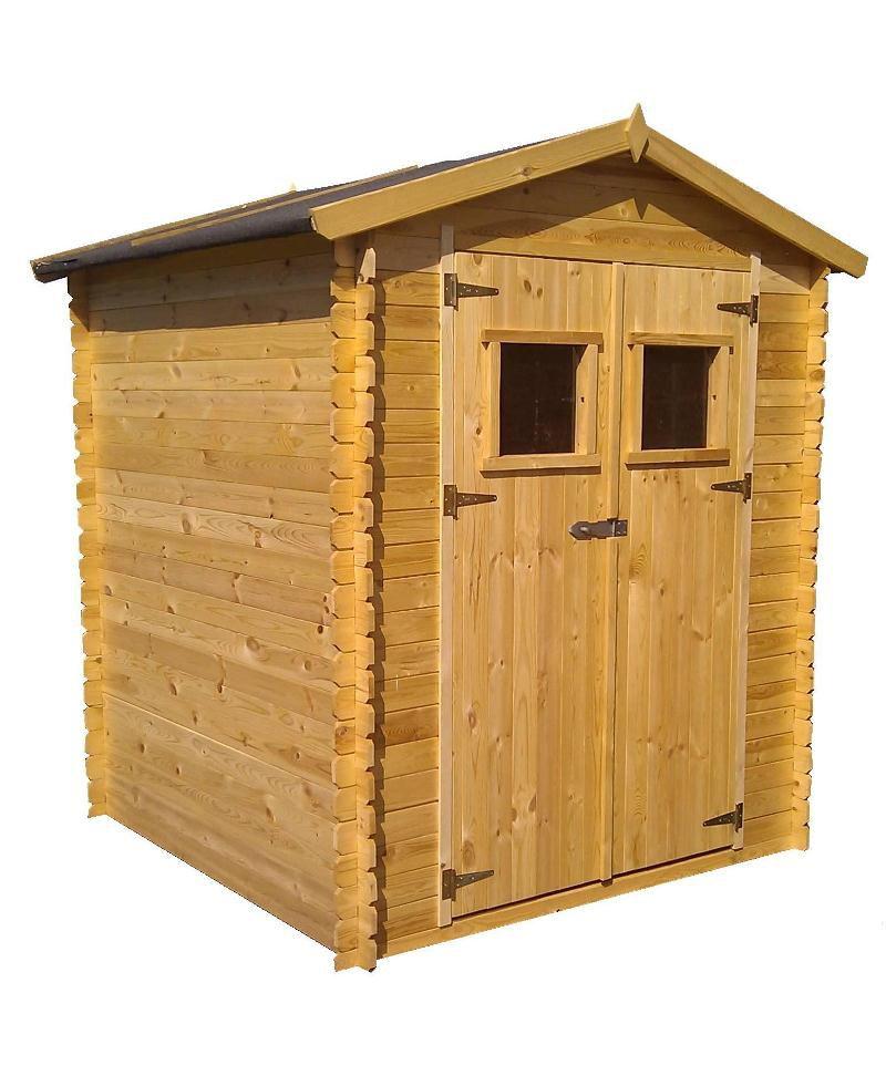 Gartenhütte Purgstall - 2,20 x 2,20 Meter aus 19mm Blockbohlen