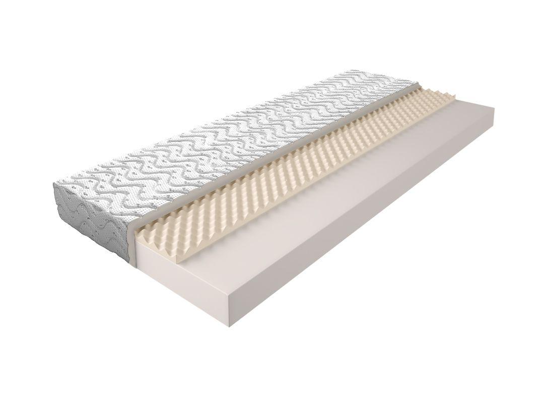 Matratze mit Schaumstoffkern 004 - Größe: 90x200 cm, Höhe: 13cm