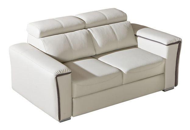 2er Sofa Flunder 03 in weiß - 170 x 109 cm (B x T)