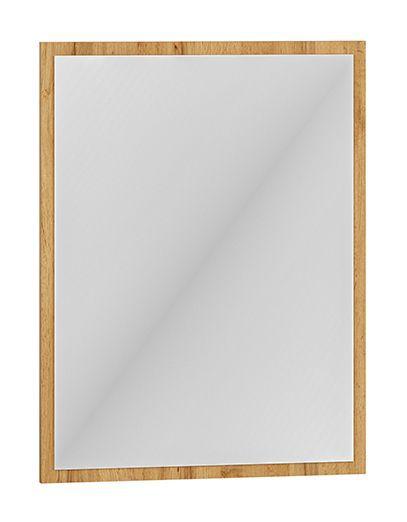 Spiegel Vamdrup 08, Farbe: Eiche - Abmessungen: 65 x 50 x 3 cm (H x B x T)