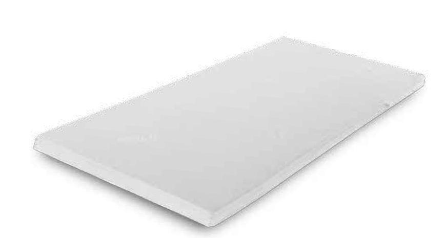 Matratzenschoner Memory, Material: Memory Schaum, Maße: 90 x 190 cm (B x T)
