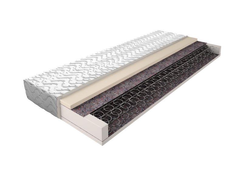Matratze mit Bonellfederkern 018 - Größe: 90 x 200 cm, Höhe: 16 cm