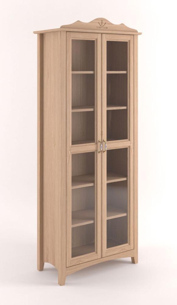 Vitrine Regal Bücherregal Vitrine, Türen 1, Höhe (cm) 195